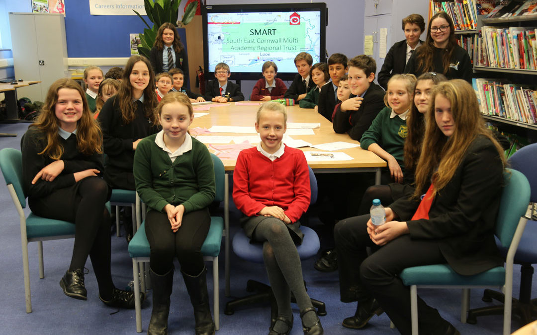 January Student Council Web Meeting at Looe School