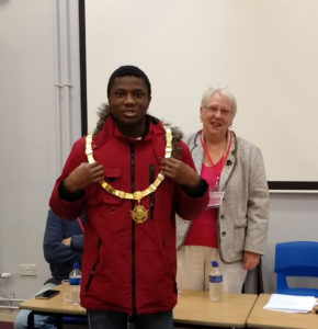 Year-13-student-with-Mayor-Mrs-Jean-Dent