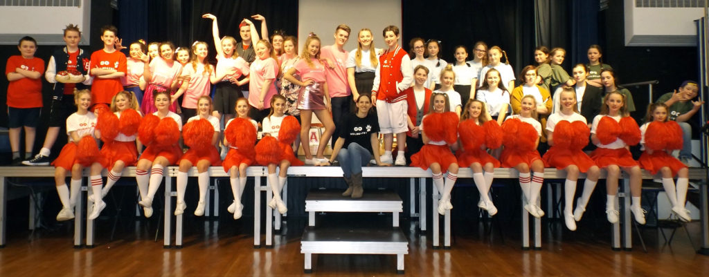 Looe Community Academy perform High School Musical Jr