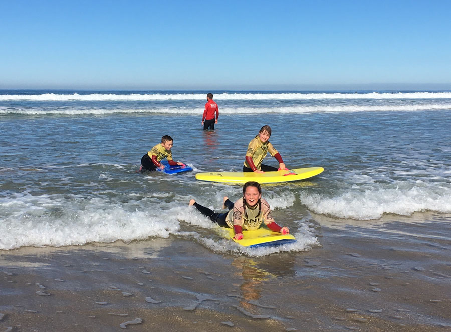 Dobwalls Year 5 hit the surf!