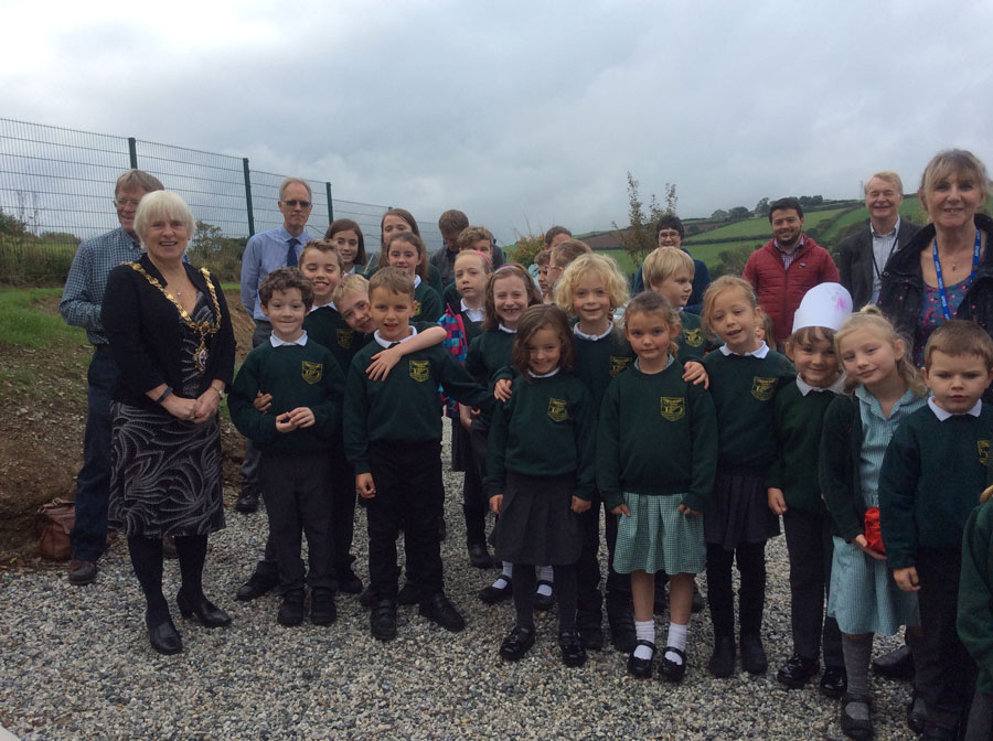 Celebrations all round at Trewidland Primary and Preschool