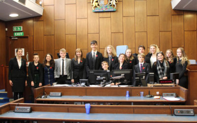 Looe students step up to the bar at Mock Trial competition