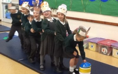 Harvest Assembly at Trewidland Primary School