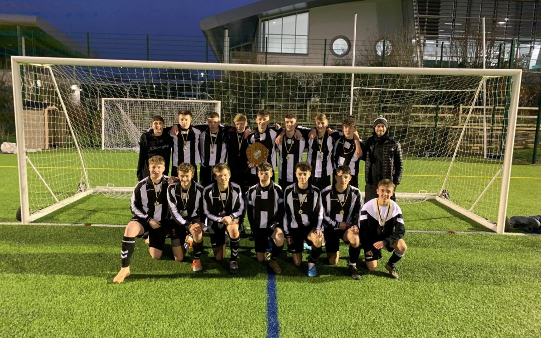 4 in a row for Saltash Community School u16 boys