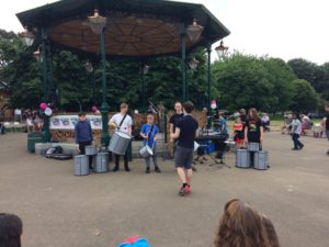 Saltash.net's drummers bring the noise at CLIC Sargent fundraiser