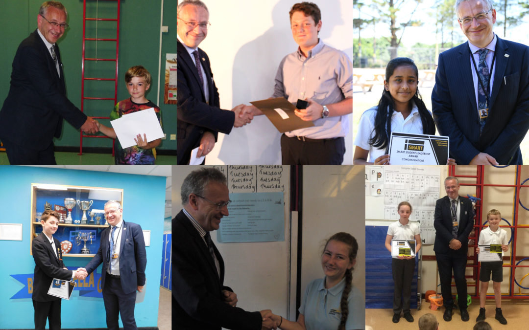 Leadership Awards presented to students across SMART