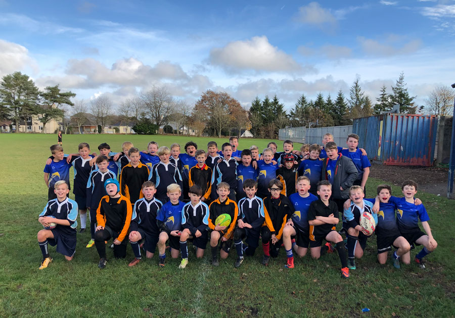 East Cornwall students battle it out in Under-12 Rugby Festival