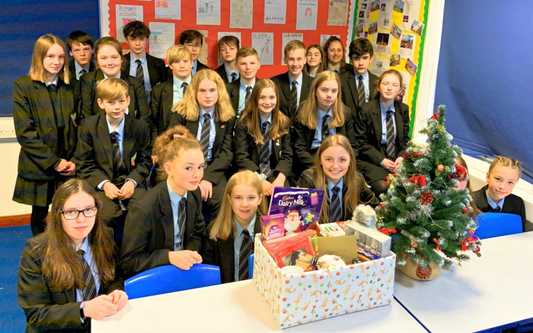 Santa to the Seniors – Looe Community Academy